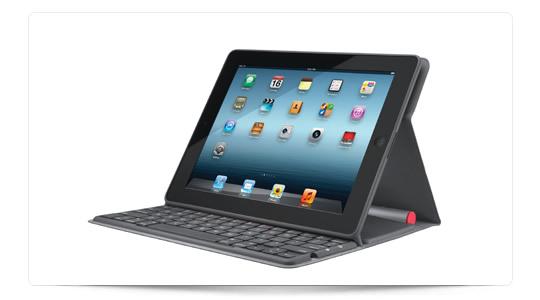 Funda teclado para ipad alimentado por energía lumínica