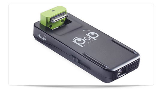 Pop Video, proyector para iPhone