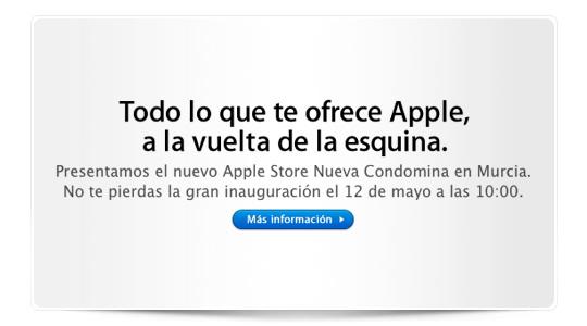 Confirmada oficialmente la apertura del Apple Store de Murcia