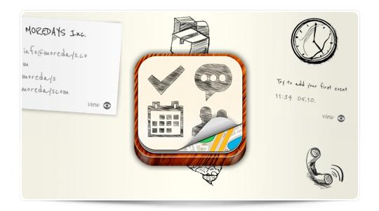 La agenda visual para iPad