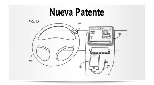 Sistema de control remoto en automóviles para iOS patentado por Apple