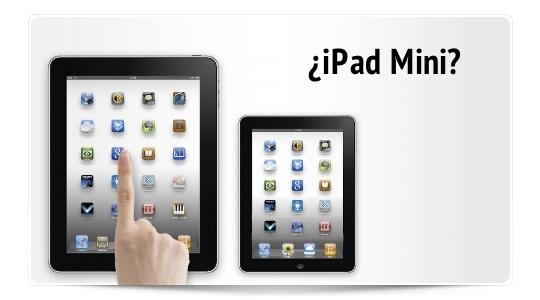 Nuevo rumor sobre iPad Mini e iPhone 5 a finales de este año