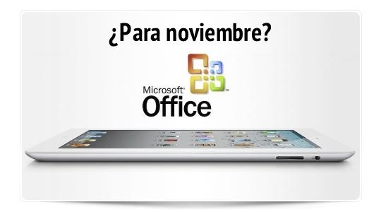 Nuevo rumor: Microsoft Office para iOS en noviembre