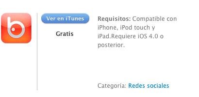 iTunes Badoo