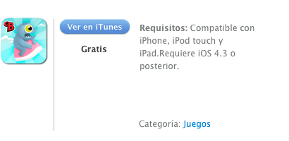 iTunes Hungry Monster