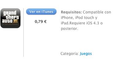 iTunes GTA3