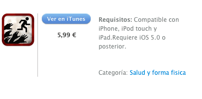itunes  Zombies, Run!