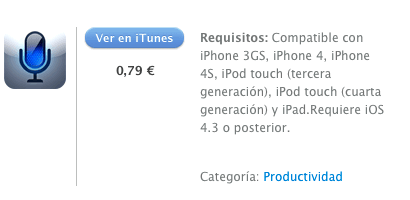 itunes iTranslate Voice
