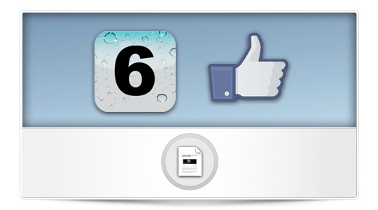 Rumor: Integración de Facebook en iOS 6