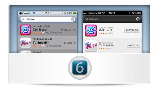 ¿Es la App Store una nueva pista del diseño del nuevo iPhone?