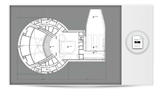 Planos interiores del Campus 2 de Apple.