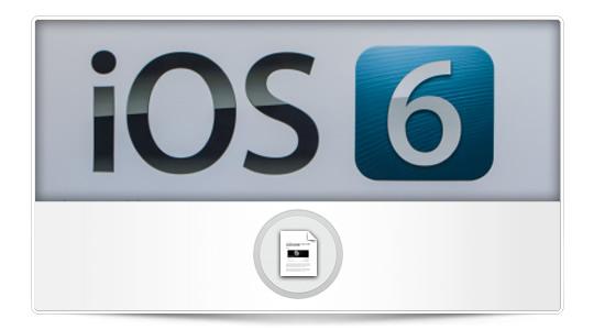 iPhone 6ª generación e iOS 6 GM llegarán en septiembre