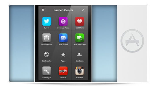 Launch Center Pro una aplicación básica para nuestro iPhone