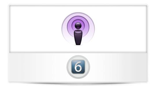 Nueva App Podcast para iOS 6 [Rumor]
