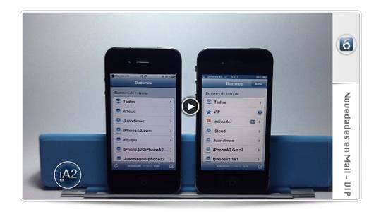 Novedades  iOS6 – Mail VIP