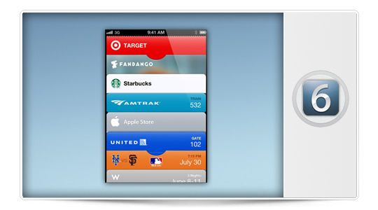 Comienza a usar PassBook en iOS 6 con unos sencillos pasos