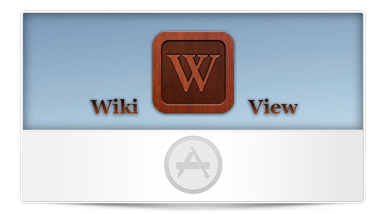 WikiView para iPad, elegante Wikipedia