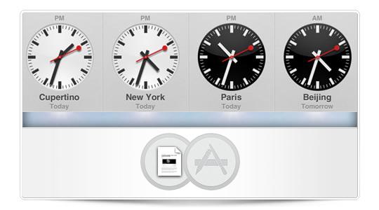 La App Reloj llega al iPad de la mano de iOS6