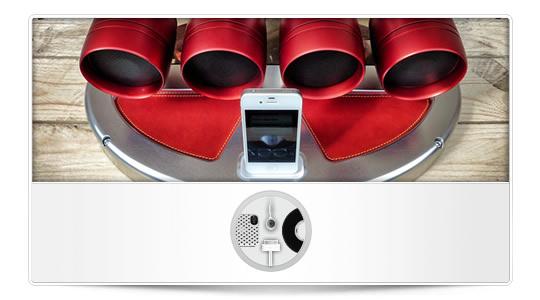 iXoots, un tubo de escape como Dock para tu iPhone/iPod