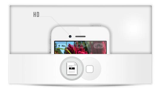 La cámara frontal del próximo iPhone puede ser HD [Rumor]