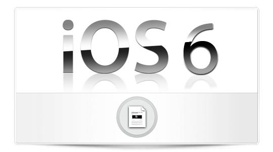 Logo de iOS 6 que será mostrado en la WWDC 2012