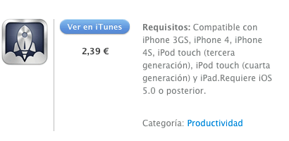 iTunes  Launch Center Pro