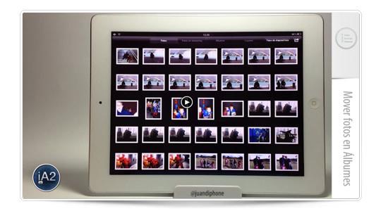 Tutorial: Mover fotos en álbumes
