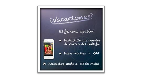 """FF personaliza2 13 de julio: """" iVacaciones? """""""