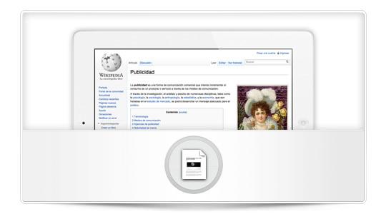 El iPad está cambiando la forma de cómo vemos la publicidad
