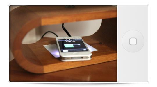 Carga inalámbrica para el iPhone 5 ¿posible?