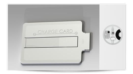 Charge Card edición blanca