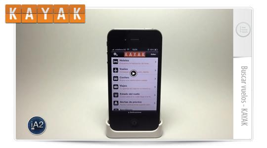 La mejor App para buscar vuelos, KAYAK