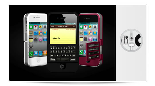 Spike, teclado plegable para iPhone