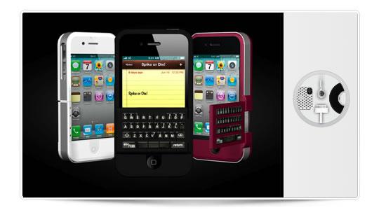 Spike, teclado plegable para iPhone