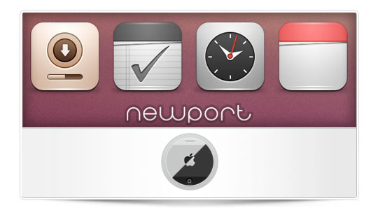 Newport Tema iPhone