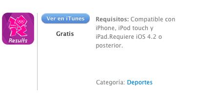 iTunes Londres 2012