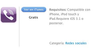iTunes Viber