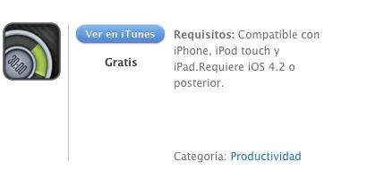 iTunes 30/30 tareas