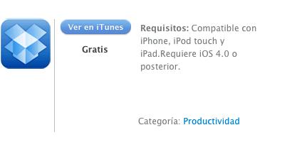 iTunes Dropbox