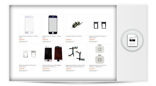 Ya se venden piezas para el iPhone 5, lo que no pase en China…