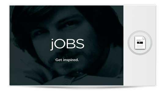 Steve jobs vuelve a Apple, al menos en la ficción (Fotos)