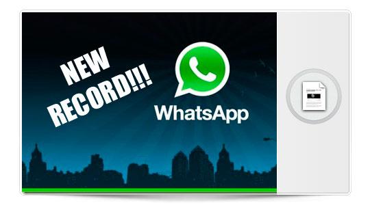 10.000 millones de mensajes en un día, WhatsApp es así…