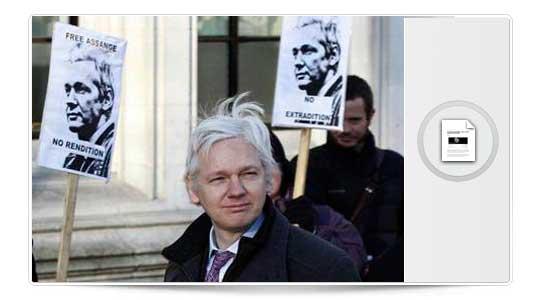 Ecuador da asilo político a Julian Assange y comparece en la embajada de Ecuador