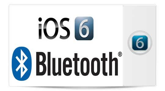 Bluetooth Sharing: Nueva sorpresa en la beta 4 de iOS 6