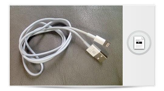 Os presentamos el nuevo cable del iphone 5