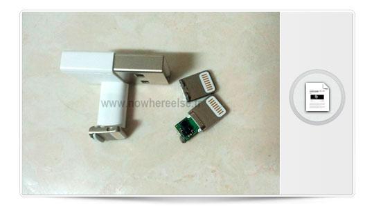 El nuevo conector del iPhone 5, fino y seguro, pero sin alas.