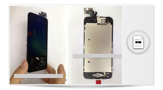 Parece que van montando el iPhone 5
