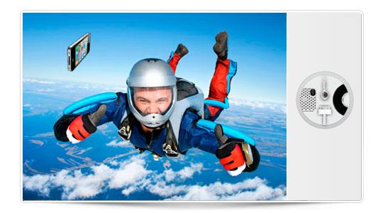 Como tirar un iPhone desde 1000 pies de altitud, oops!!