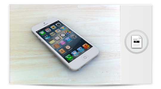 Así se verá el iPhone 5 en tus manos