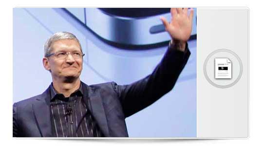 Tim Cook habla sobre la sentencia del juicio Apple Vs. Samsumg